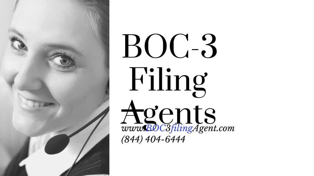 The best BOC-3 Filing agents in USA